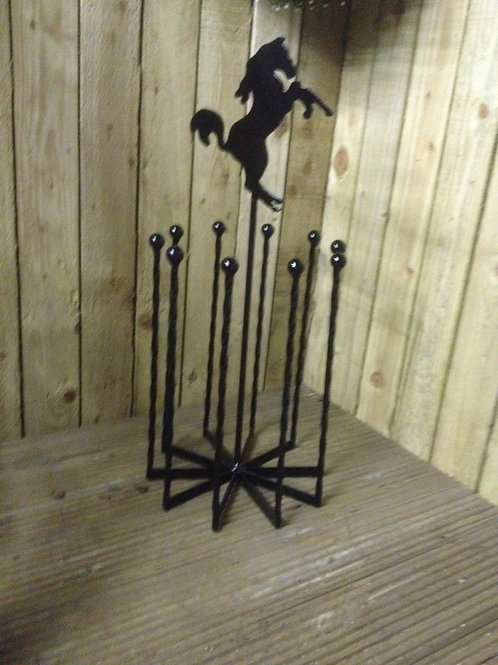Wrought Iron boot Holder WS029