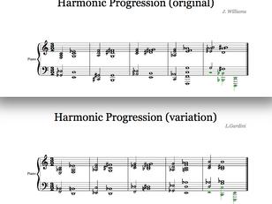 The John Williams' Harmonic Language