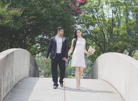 The Courthouse Wedding that got me back in the game.