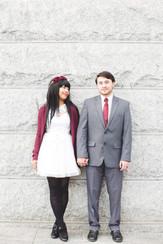 Bianca & Carsie Courthouse Wedding