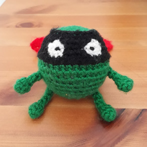 Evil Pea from Supertato!