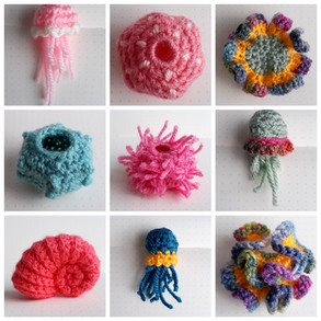 Yarnbombing Fun With Mini Sea Creatures