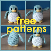 crochet penguin 'free patterns' amigurumi patterns free diy handmade ravelry pinterest fat cat crochet