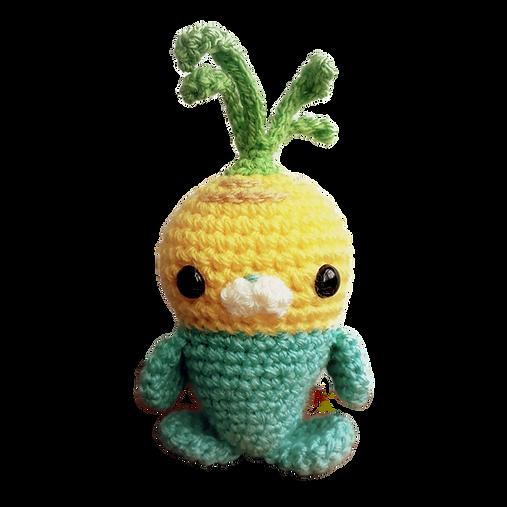 amigurumi crochet toy handmade free pattern tunip vegimal octonauts