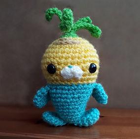 amigurumi crochet tunip toy vegimal octonauts