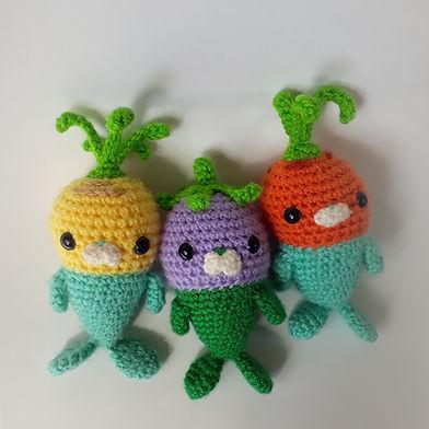 amigurumi crochet toy handmade 'free pattern' tunip barrot grouber vegimal octonauts cbeebies pattern diy cute ravelry pinterest fat cat crochet