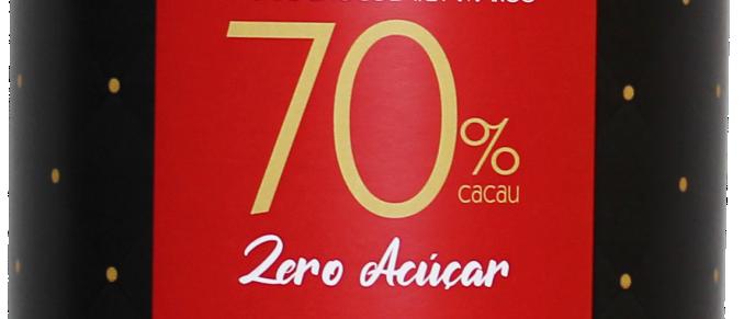 Ovo de Chocolate Amargo 70% Cacau Zero Açúcar - 200g