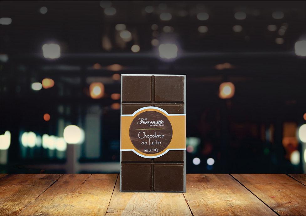 Barra Chocolate Ao Leite 100g