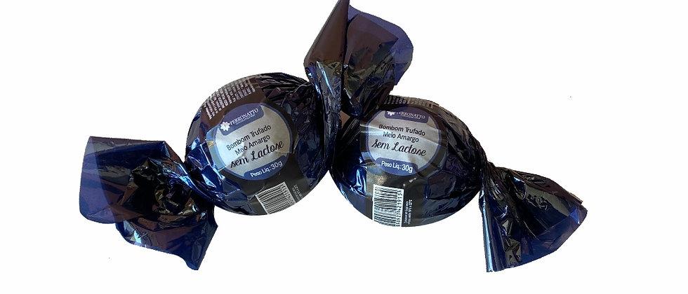 Bombom Trufado Chocolate Meio Amargo Sem Lactose - 30g