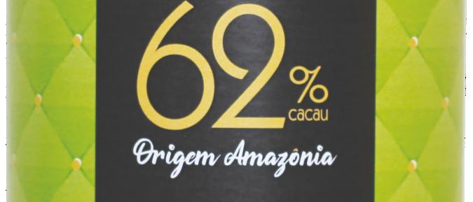 Ovo de Chocolate Amargo 62% Cacau Origem Amazônia - 200g