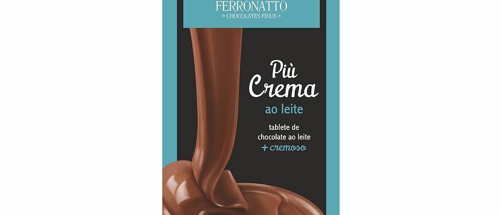 Barra Più Crema de Chocolate ao Leite - 90g