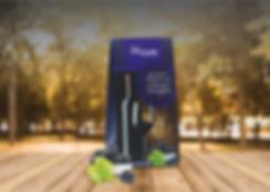 Caixa de Bombons Trufados de Amora com Cabernet Sauvignon