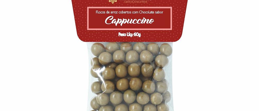 Drágeas de Chocolate Ao Leite Sabor Cappuccino - 60g
