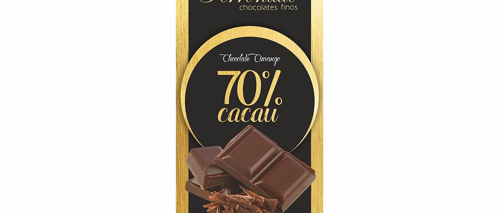 Barra de Chocolate Amargo 70% Cacau - 90g