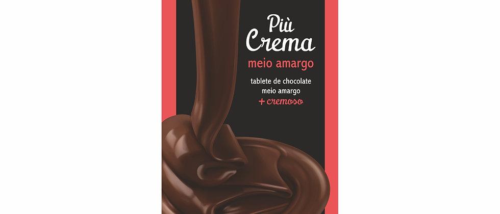 Barra Più Crema de Chocolate Meio Amargo - 90g