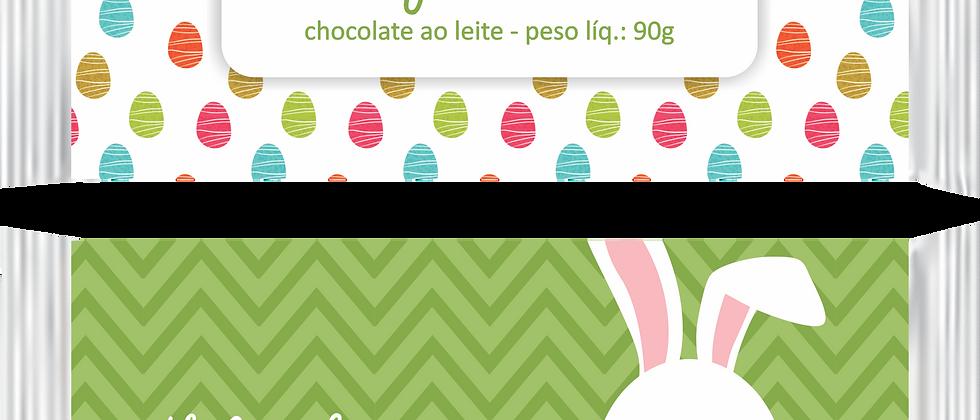 Placa de Chocolate Ao Leite - 90g