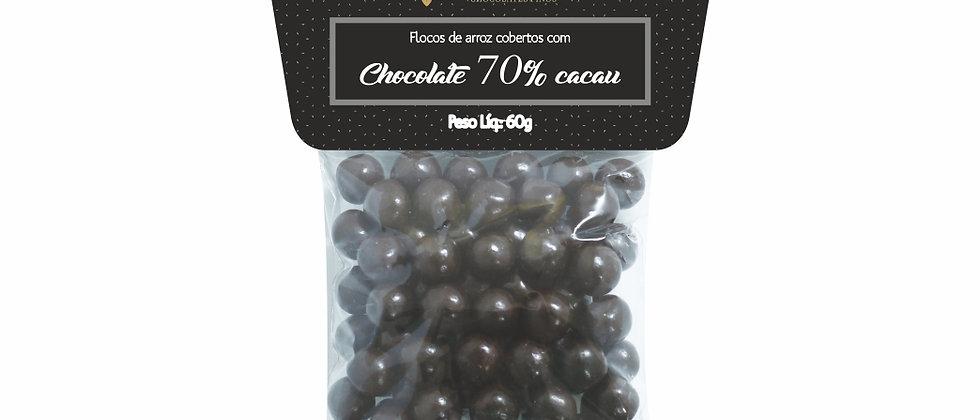 Drágeas de Chocolate Amargo 70% Cacau - 60g