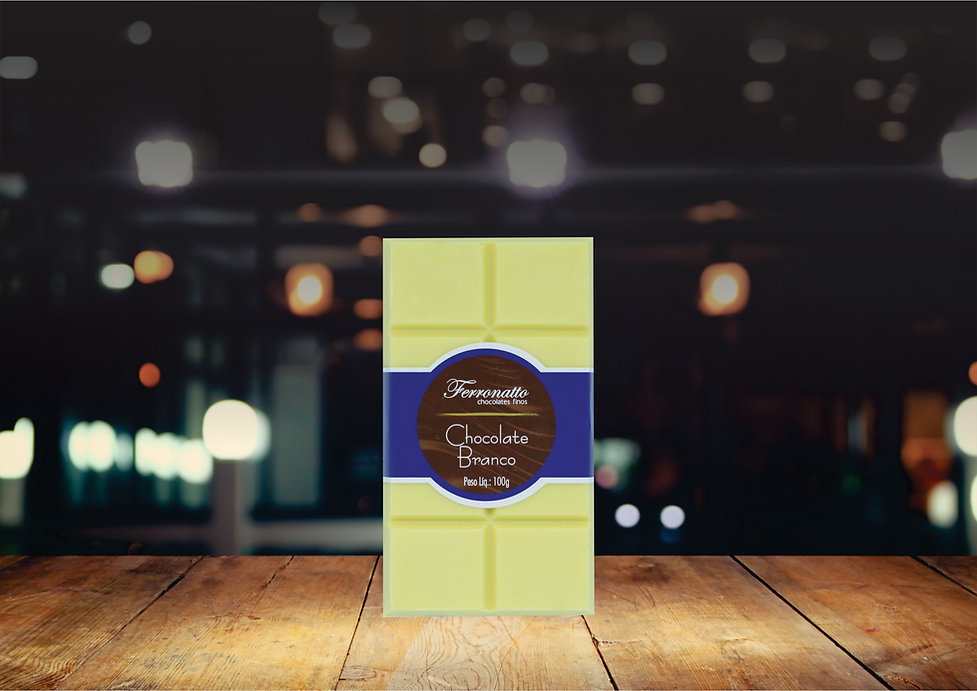 Barra Chocolate Branco 100g