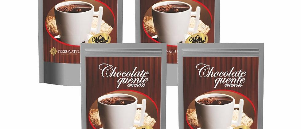 Combo Chocolate Quente 4 unidades