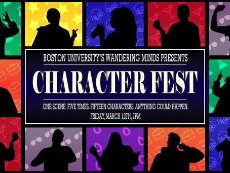 Character Fest!