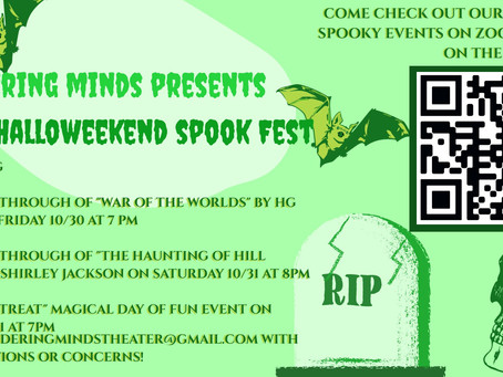 Halloweekend Spook Fest is Right Around the Corner!