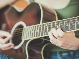 Akustik Gitarre