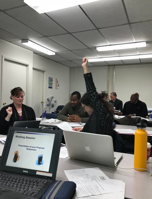Proposal Writing Class at The Procurement Technical Assistance Center
