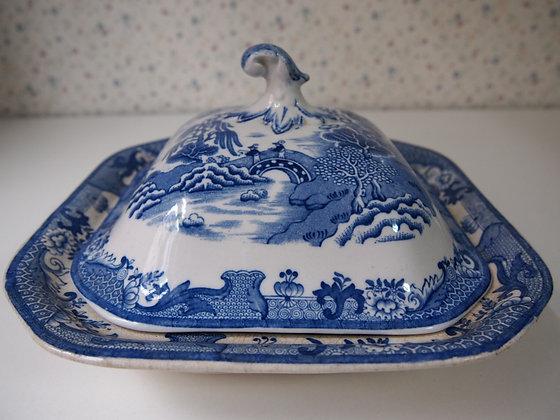 メイソンズ  食卓用のふた付き鉢