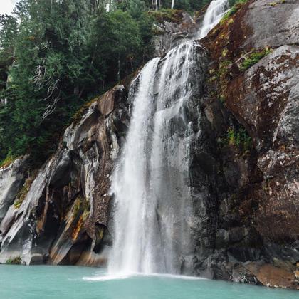 Waterfalls of Toba Inlet