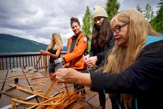 Cedar Weaving with Anita