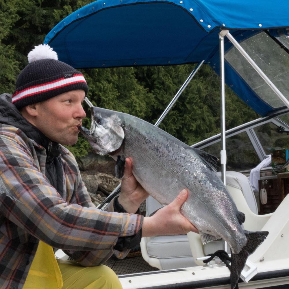 Klahoose Wilderness Resort - Fishing