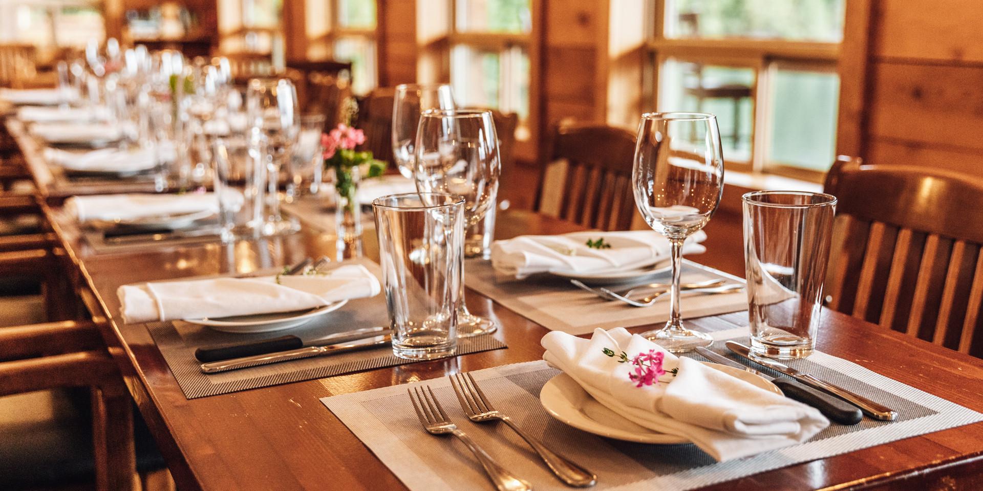 Klahoose Wilderness Resort - Dinning Room