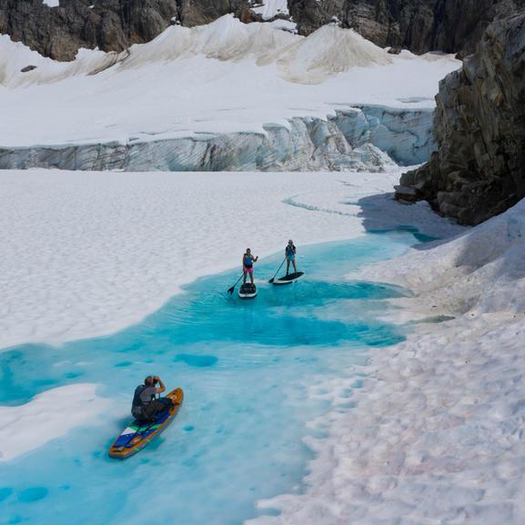 Heli Glacier Paddle tour