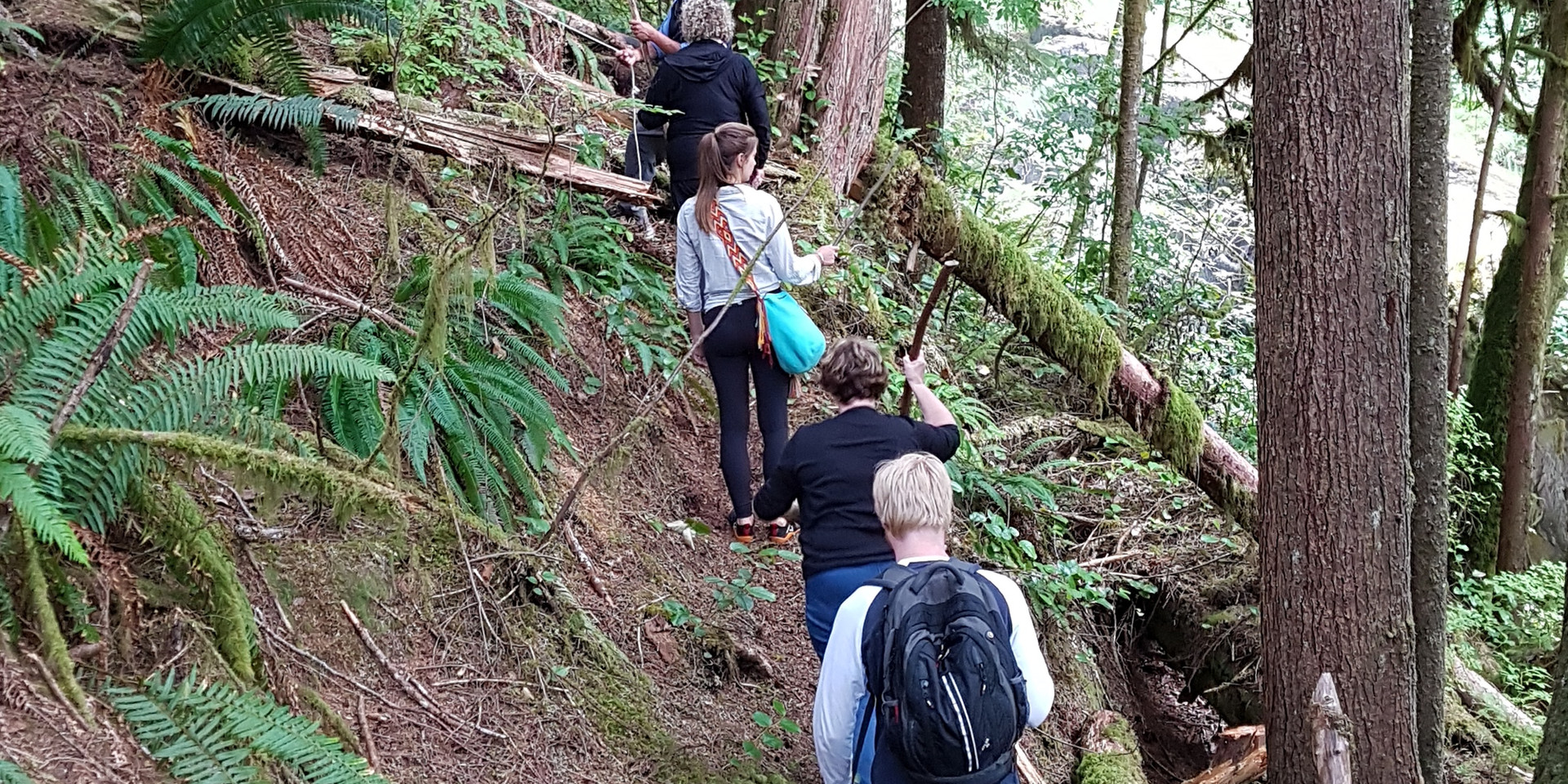 Klahoose Wilderness Resort - hiking