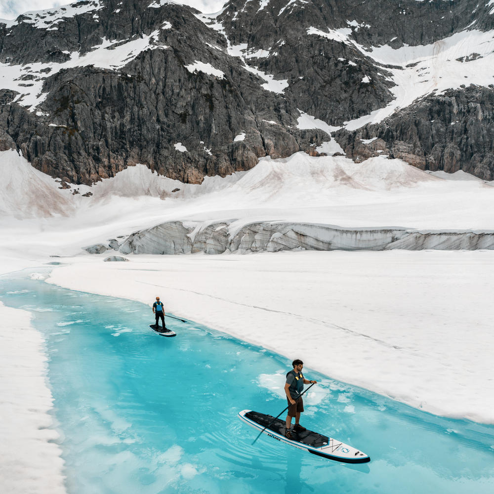 Helicopter Glacier Paddle Board