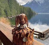 Indigenous Cedar Hat