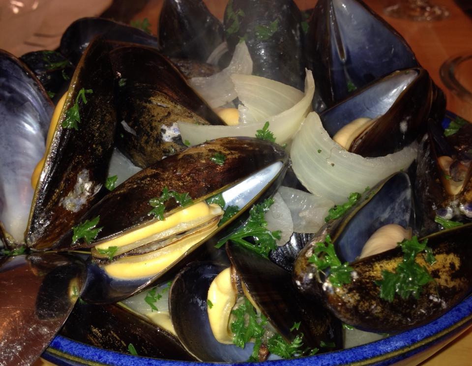 Cortez Island Mussels