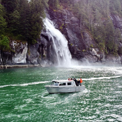 Toba Inlet Boat Tour