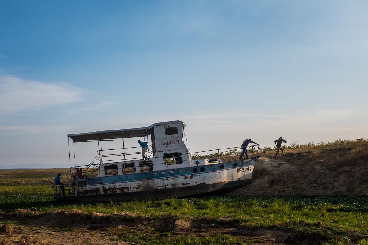Lake Kariba, Zimbabwe.