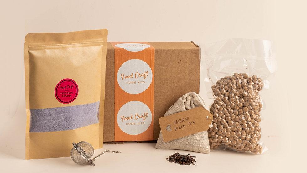 Taro Bubble Tea Kit- 8 drinks