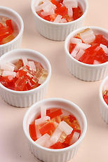 Rainbow Jelly Topping