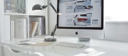 Professional Studio with Apple computer