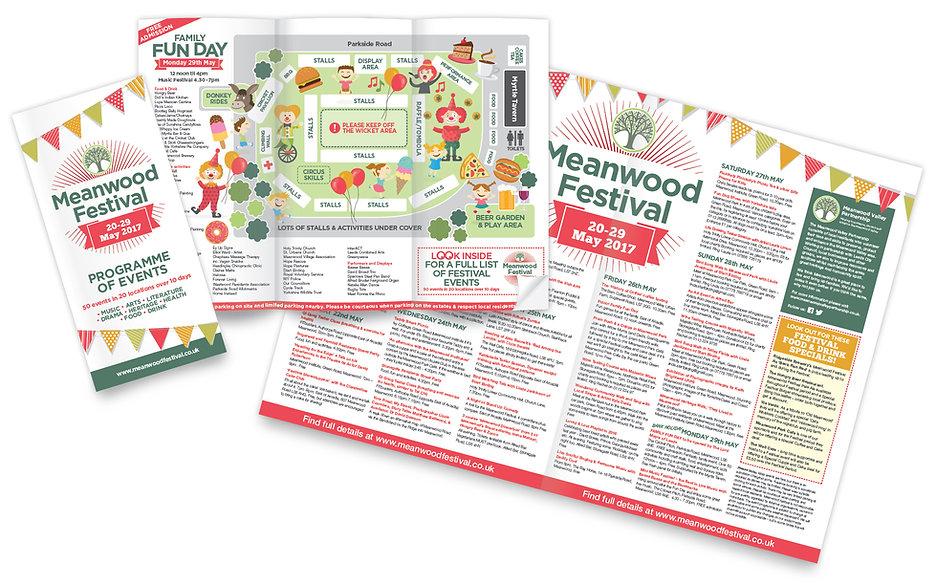 graphic design leaflet