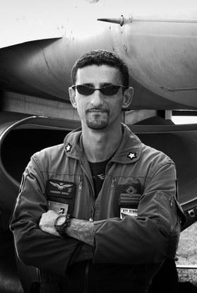 Italian Air Force F-16 Fighter Pilot