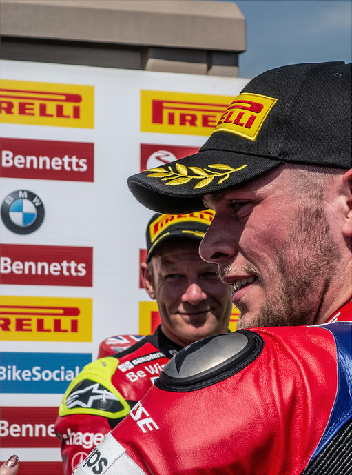 Shakey Byrne and Jake Dixon Oulton Park