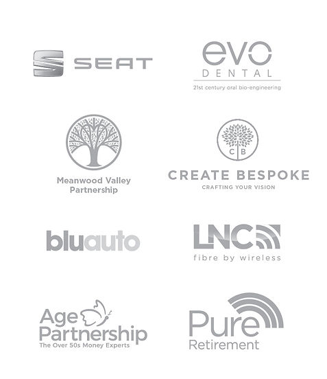 Logos of companies recently worked for