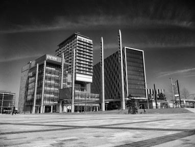 MediaCityUK BBC building Salford