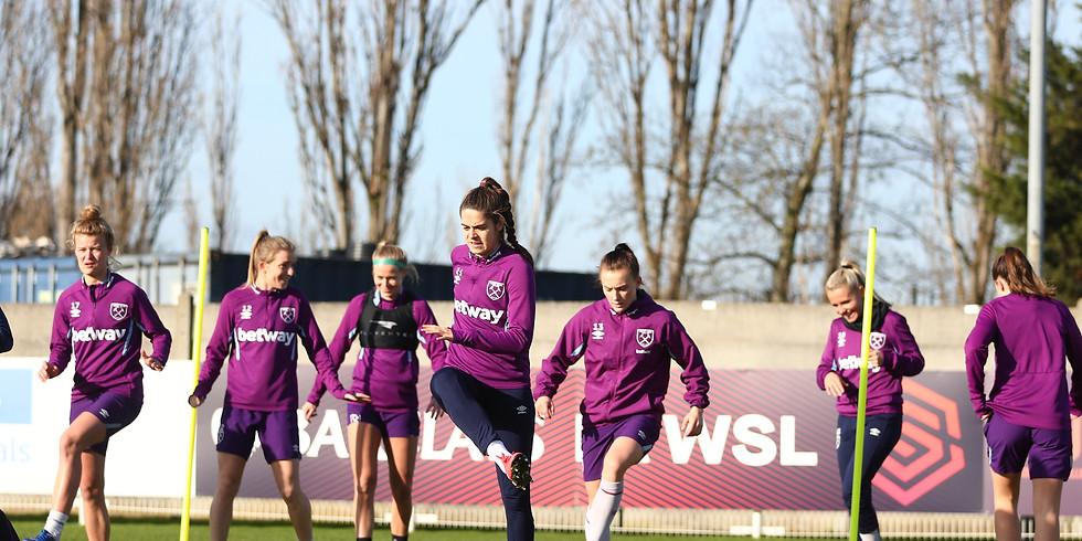 West Ham Women Sponsored Match Day