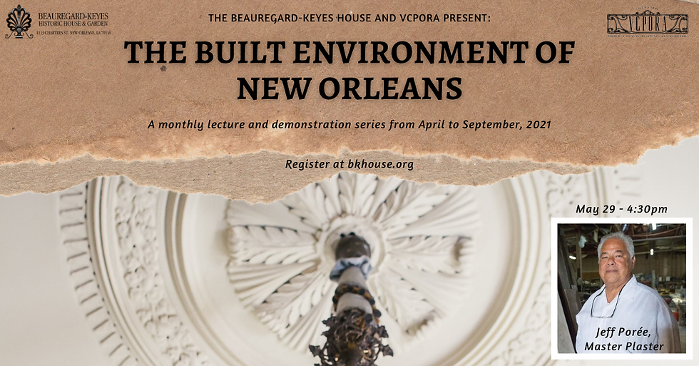 Built Environment of New Orleans Faceboo