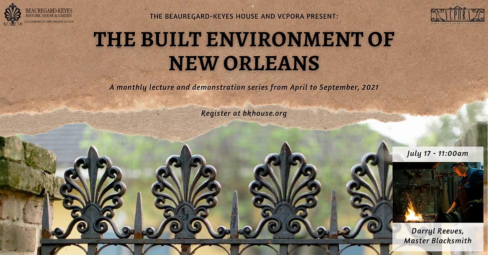 Built Environment of New Orleans Darryl